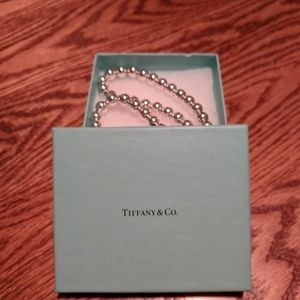 Authentic Tiffany Graduated Ball Necklace